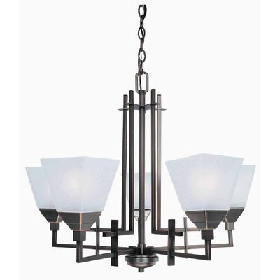 Knollwood 5-Light Shaded Chandelier
