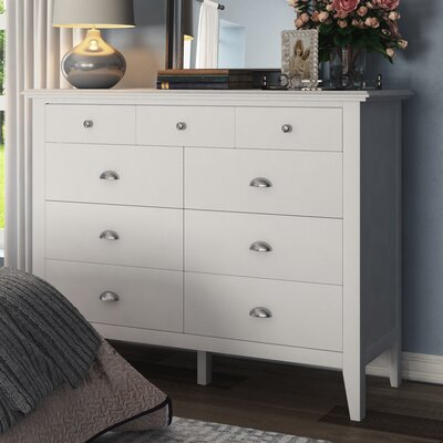 Wagonhouse 9 Drawer Dresser