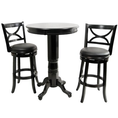 Burr Pub Table Set