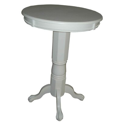 Lakemoore Pub Table Finish: Solid White