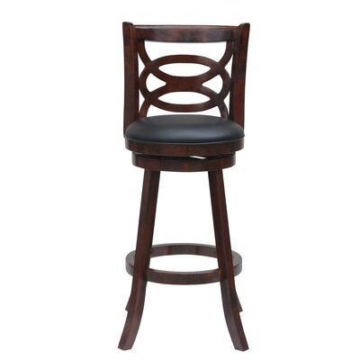 LaGrange 24 Swivel Bar Stool Finish: Cherry