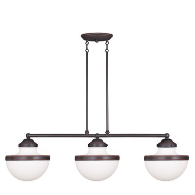 Montpelier 3-Light Kitchen Island Pendant