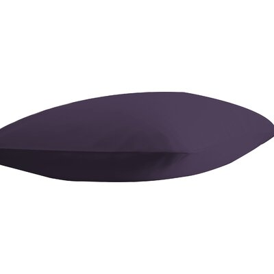 Athens Ultra Soft Pillow Case Color: Purple, Size: Standard