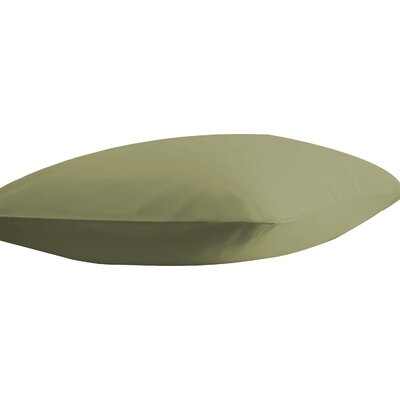 Athens Ultra Soft Pillow Case Color: Sage, Size: Standard