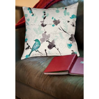 Hackler Throw Pillow Size: 14 H x 14 W x 3 D
