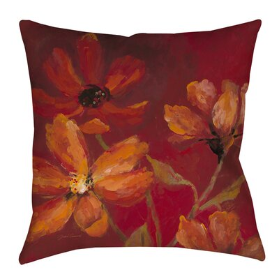 Larchmont Outdoor Throw Pillow Size: 16 H x 16 W x 4 D