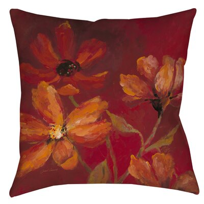 Larchmont Throw Pillow Size: 16 H x 16 W x 4 D