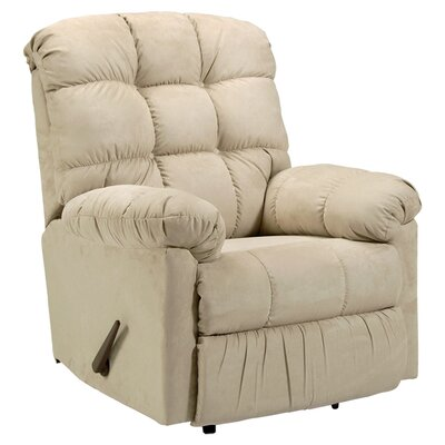 Lathbury Rocker Recliner Upholstery: Radar Brown
