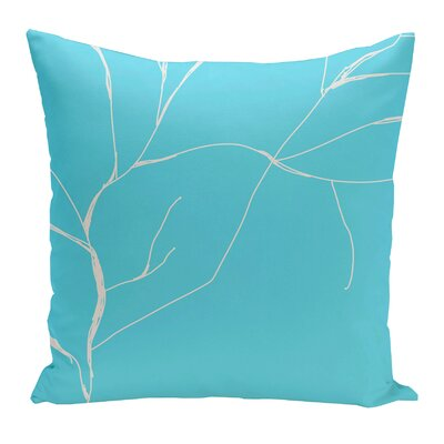 Laurel Valley Polyester Throw Pillow Size: 20 H x 20 W, Color: Turqouise