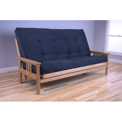 Leavittsburg Futon and Mattress Upholstery: Black