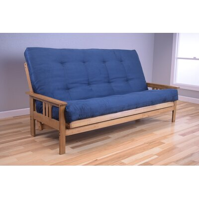 Leavittsburg Futon and Mattress Upholstery: Navy