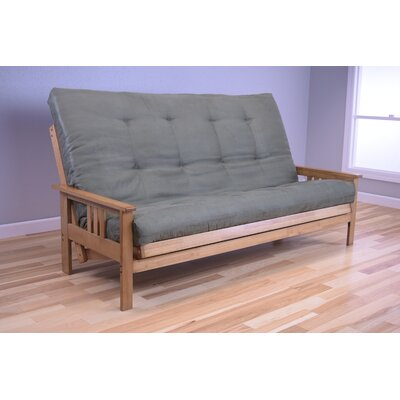 Leavittsburg Futon and Mattress Upholstery: Olive