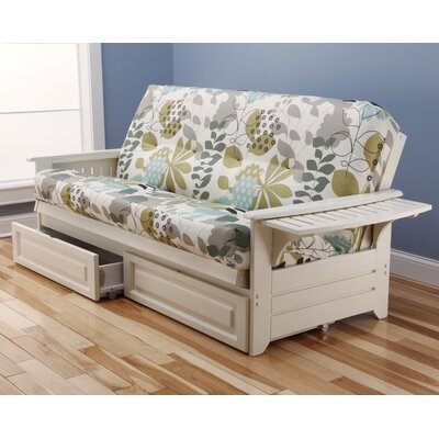 Lebanon Futon and Mattress Frame Finish: Antique White