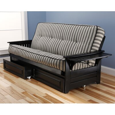 Lebanon Futon and Mattress Frame Finish: Black