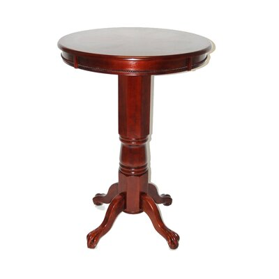 Burr Traditional Pub Table Finish: English Tudor