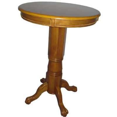 Burr Traditional Pub Table Color: Fruitwood