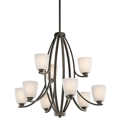 Surrey 9-Light Shaded Chandelier