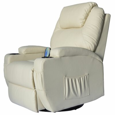 Lexington Manual Swivel Recliner