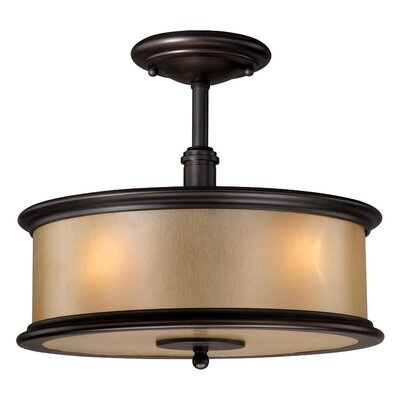 Limewood Semi Flush Mount