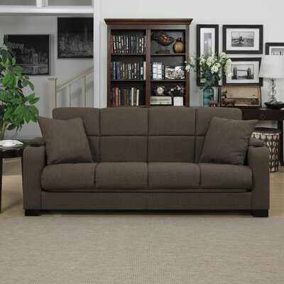 Auburnhill Sleeper Sofa Upholstery: Brown