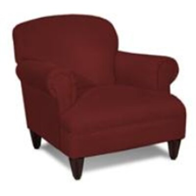 August Armchair Upholstery: Red