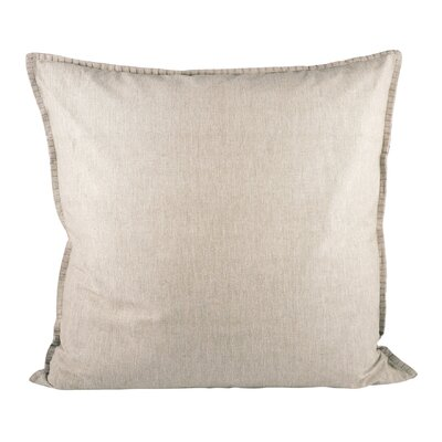 Baden Cotton Throw Pillow Color: Chateau Gray