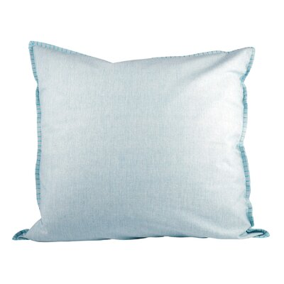 Baden Cotton Throw Pillow Color: Cameo Blue