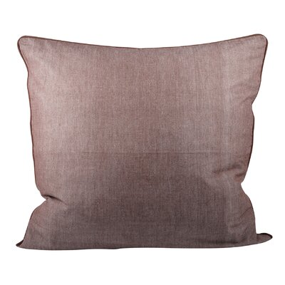 Baden Cotton Throw Pillow Color: Earth