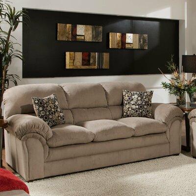 Plagido Sofa Upholstery: Cocoa