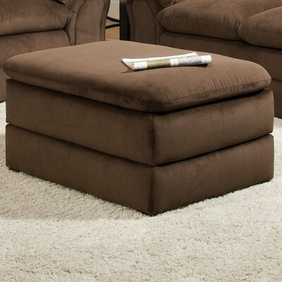 Plagido Storage Ottoman Upholstery: Umber