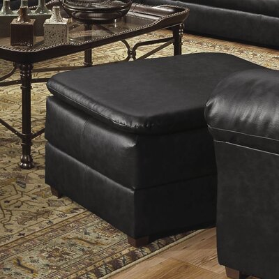 Pecan Street Ottoman Upholstery: Onyx