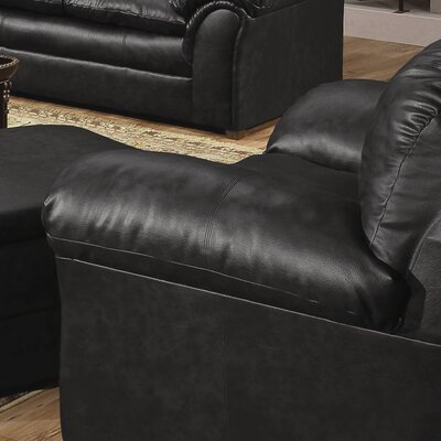 Pecan Street Club Chair Color: Onyx