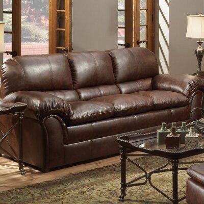 Pecan Street Sofa Upholstery: Mahogany
