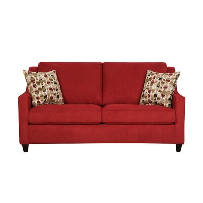 Pfaff Loveseat Upholstery: Blaze Red