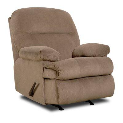 Plagido Rocker Recliner Upholstery: Harper Cocoa