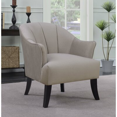 Gladstone Barrel Chair Upholstery: Camel