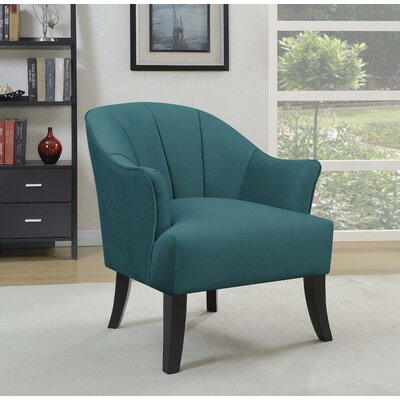 Gladstone Barrel Chair Upholstery: Teal