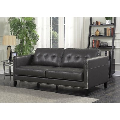 Glen View Sofa Upholstery: Charcoal