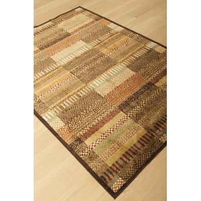 Glencoe Brinson Rug Rug Size: 53 x 76