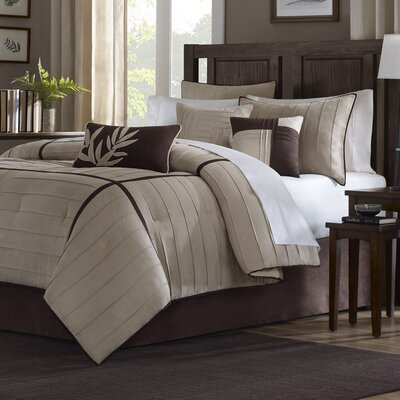 Gloria 7 Piece Comforter Set Size: King