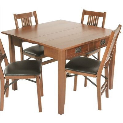 Berkshire Expanding Dining Table Table Finish: Fruitwood