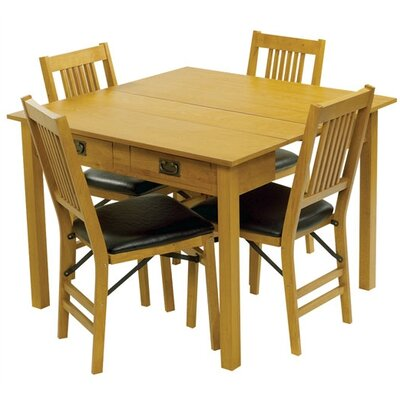Berkshire Expanding Dining Table Table Finish: Oak