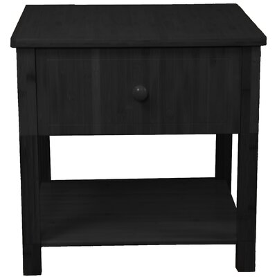 Gordon End Table Color: Black