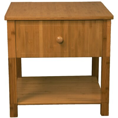 Gordon End Table Color: Medium Oak