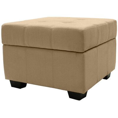 Grace Storage Ottoman Upholstery Color: Khaki