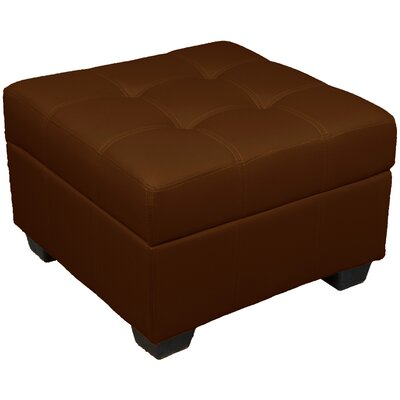 Grace Storage Ottoman Upholstery Color: Saddle