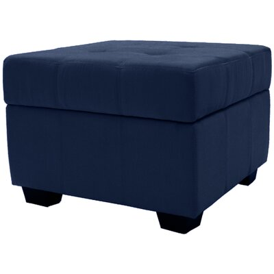 Grace Storage Ottoman Upholstery Color: Dark Blue