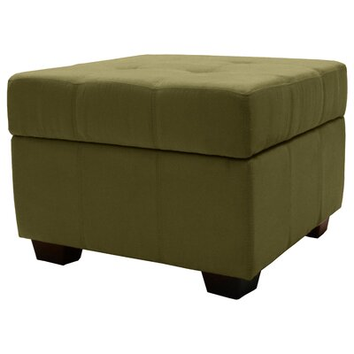 Grace Storage Ottoman Upholstery Color: Olive Green
