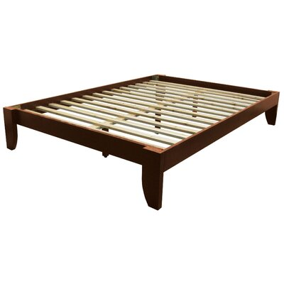 Gordon Platform Bed Size: King, Color: Walnut