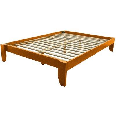 Gordon Platform Bed Size: King, Finish: Medium Oak